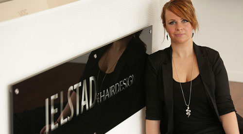 Om Jelstad Hairdesign